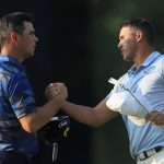 Brooks Koepka and Gary Woodland played alongside each other in the third round at the 2018 PGA Championship at Bellerive.