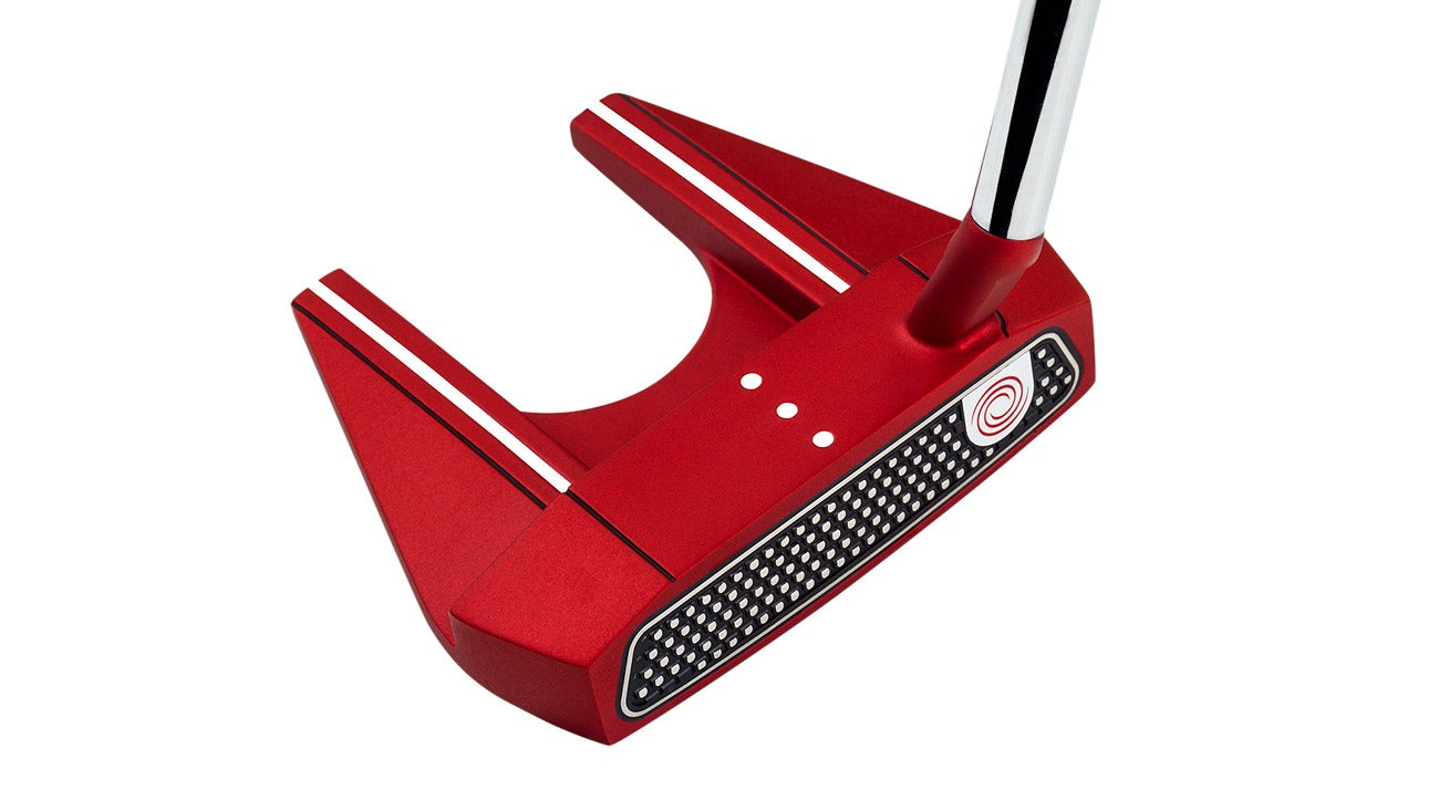 The Odyssey O-Works Red 7S Mallet putter, ClubTest 2018