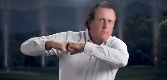 Phil Mickelson dancing