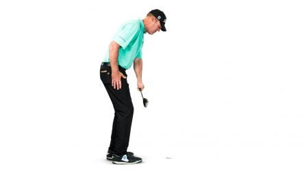 Swinging the club up the shaft plane will make it nearly impossible to close the clubface.