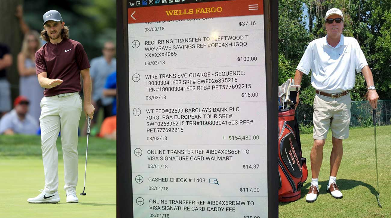 Tommy Fleetwoods Money Ended Up In Thomas Bank Account Wiring Instructions For Wells Fargo Fleetwood British Open