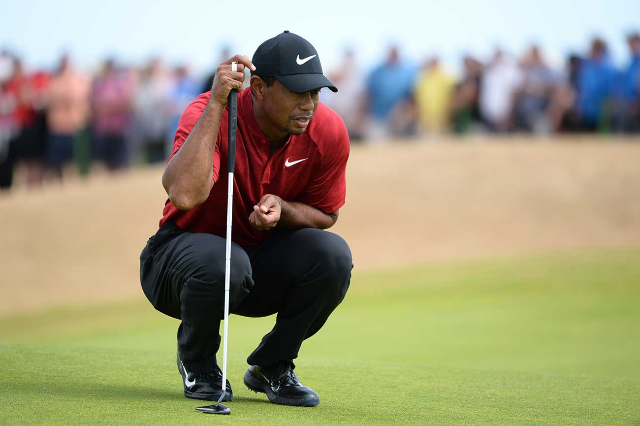 Woods has shown flashes of magic, but his consistency has been the issue.