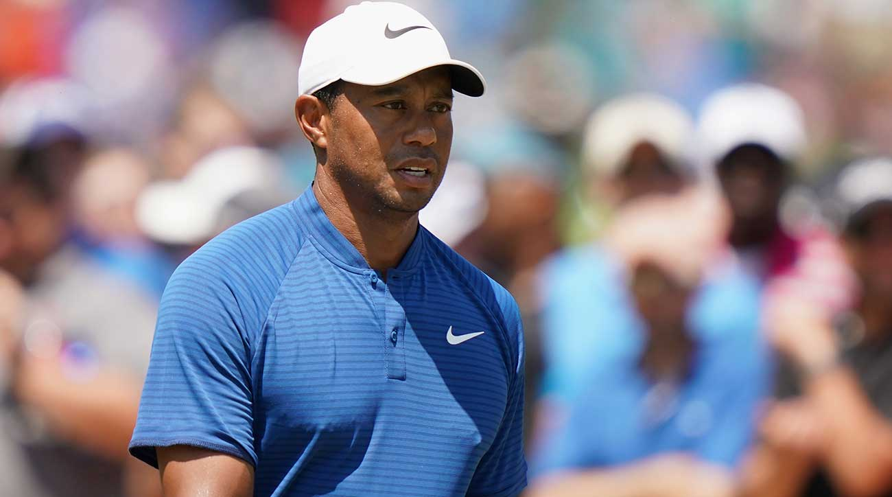 Tiger Woods got off to a hot start on Saturday of the PGA Championship.