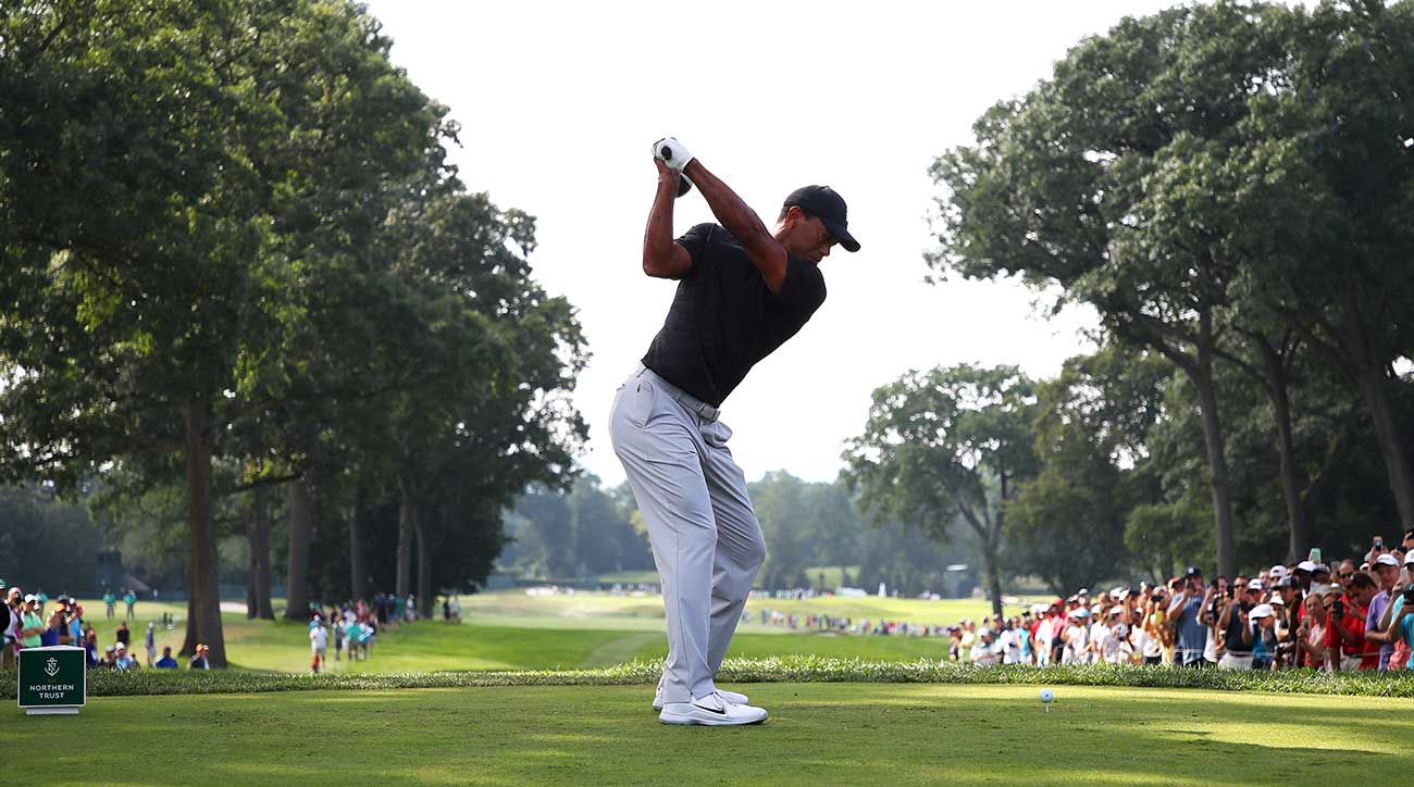 Tiger Woods's swing has been a thing of beauty since his return.