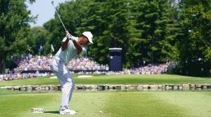 Tiger Woods, Saturday, 2018 PGA Championship