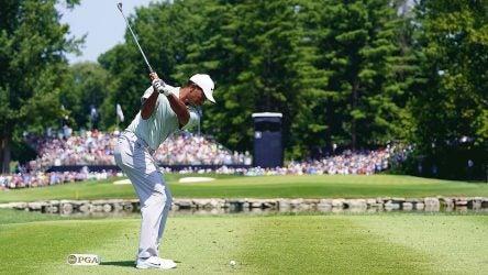 Tiger Woods, Saturday, 2018 PGA Championship
