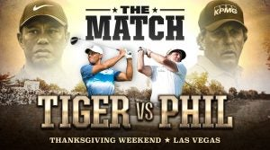 Tiger Woods Phil Mickelson match