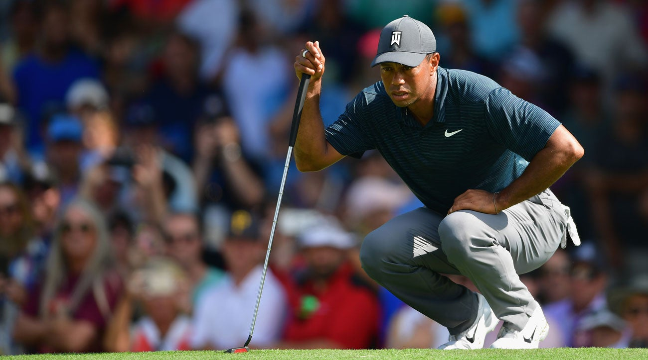 ef7b43484 Tiger Woods salvages even par 70 at PGA Championship first round at ...