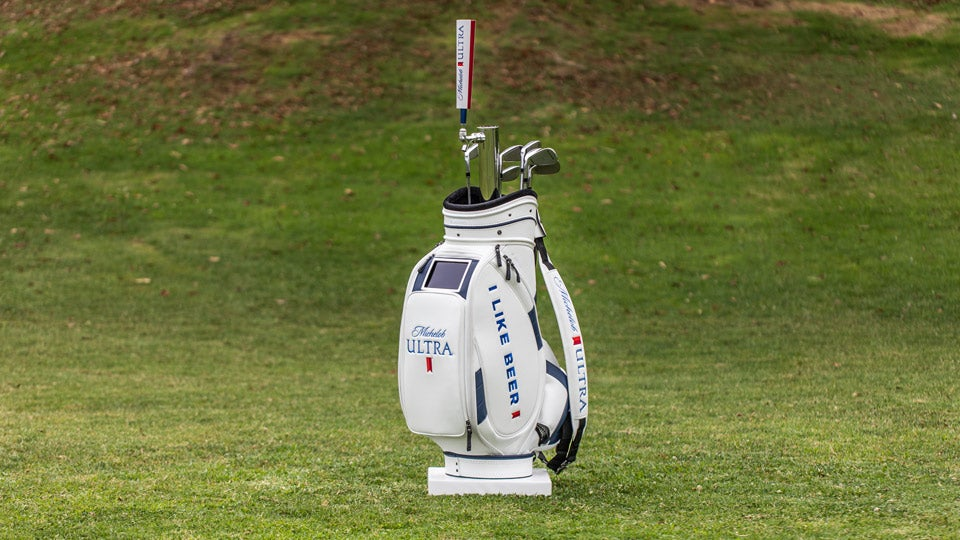 Michelob is set to debut the ULTRA caddie bag at the 2018 PGA Championship.
