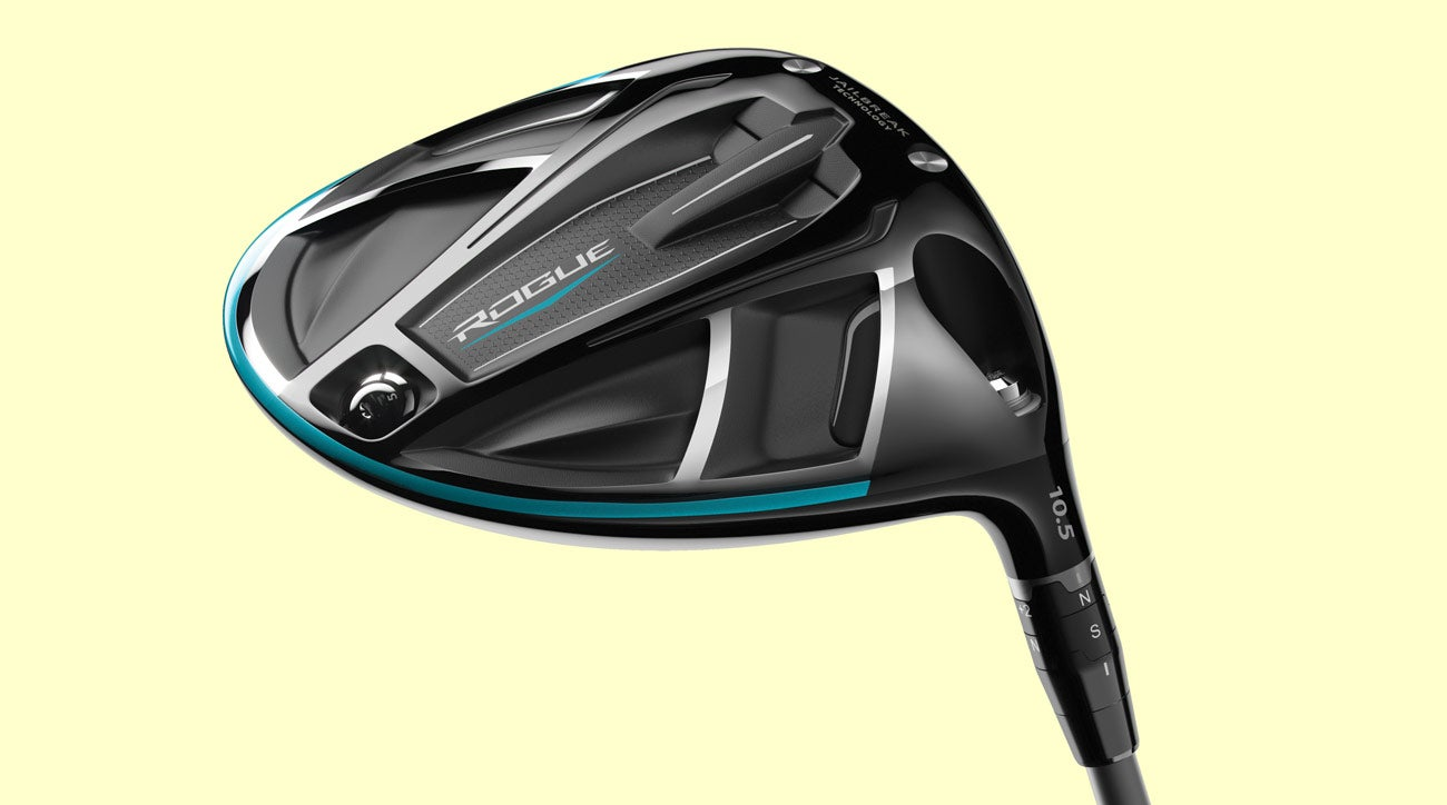 Adjustable driver technology seen here in the Callaway Rogue driver