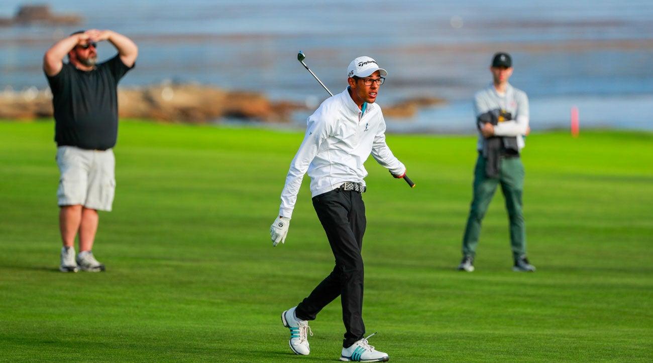 Akshay Bhatia amateur golf