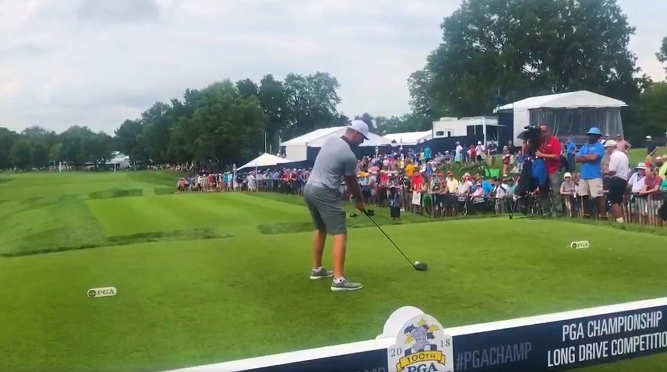 PGA Championship Long Drive Competition Bellerive