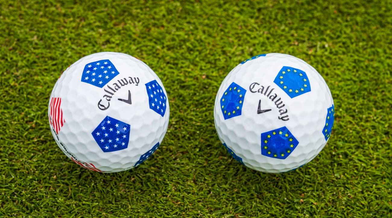 Callaway Ryder Cup golf balls