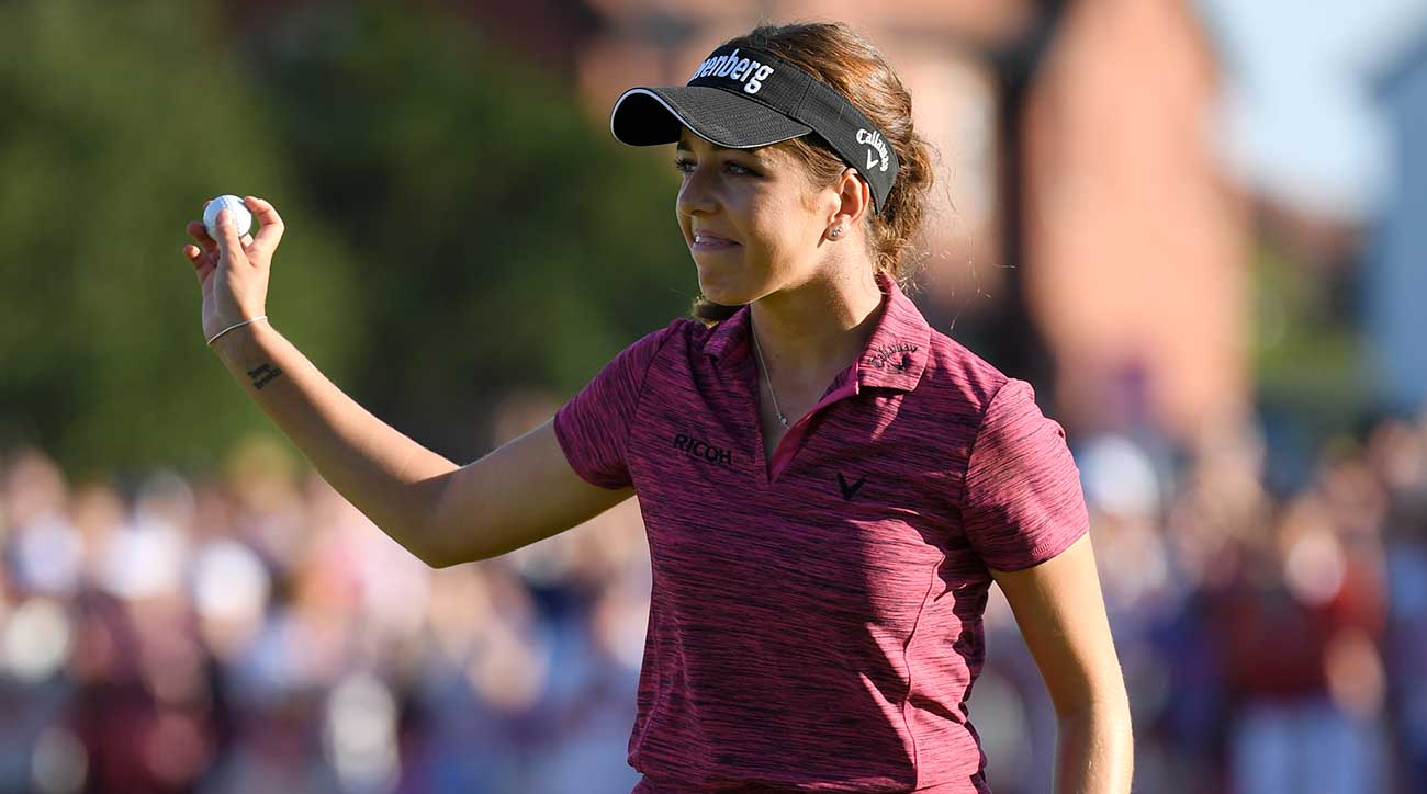 georgia hall wins women u2019s british open for first major title