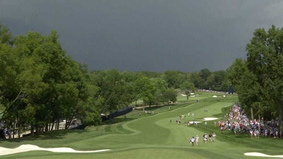 PGA championship delayed