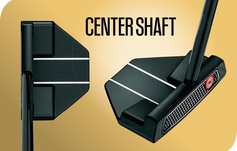 An example of a center shaft putter hosel.