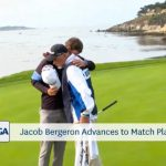 2018 US Amateur playoff Pebble Beach,Jacob Bergeron