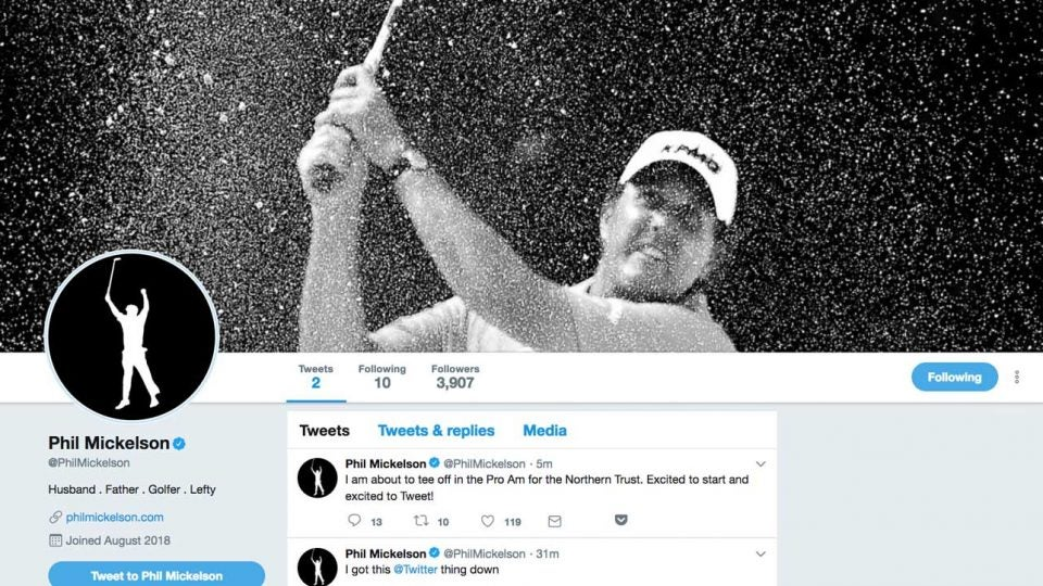 phil mickelson twitter