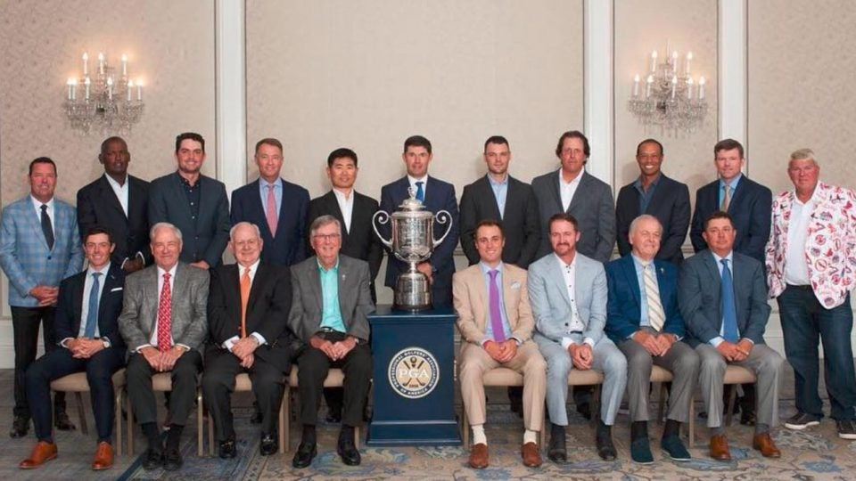 PGA Championship Champions Dinner, Bellerive