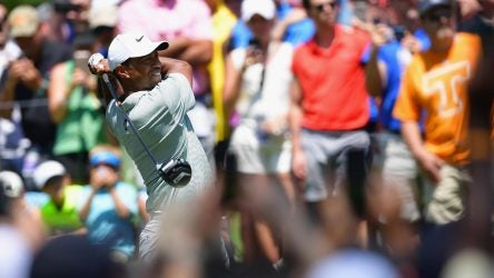 PGA Championship final round tee times, Tiger Woods