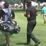 Phil Mickelson brought his dance moves to the golf course.