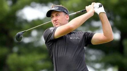 Ian Poulter shot 62 to take the early lead in Akron, Ohio.