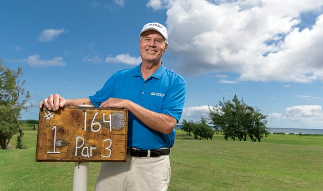 Mark Rolfing first stumbled onto Kahuku Golf Course nearly 40 years