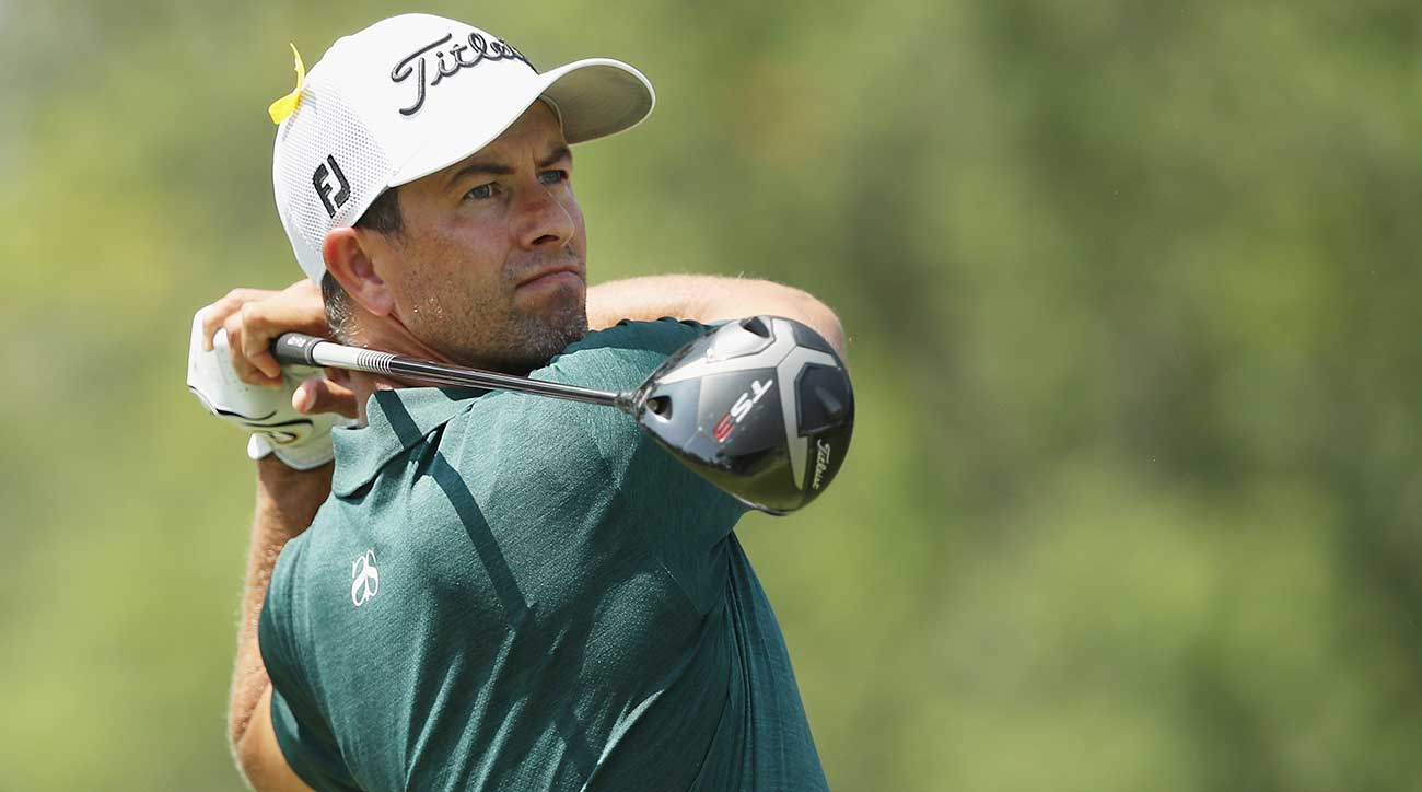 Adam Scott is only two back at the PGA Championship. Can he catch Brooks Koepka?