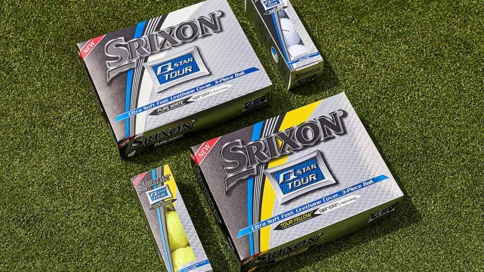 The new Srixon Q-Star Tour golf balls for 2019.