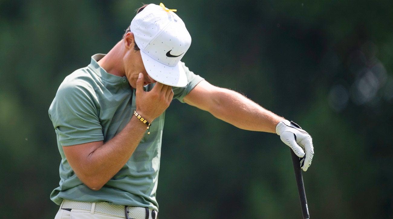 Thorbjorn Olesen lost golf clubs, PGA Championship