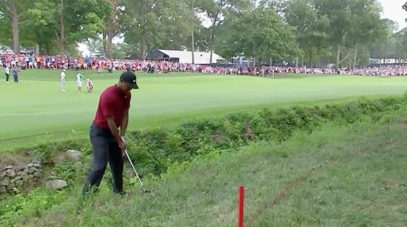 Tiger Woods, PGA Championship 2018