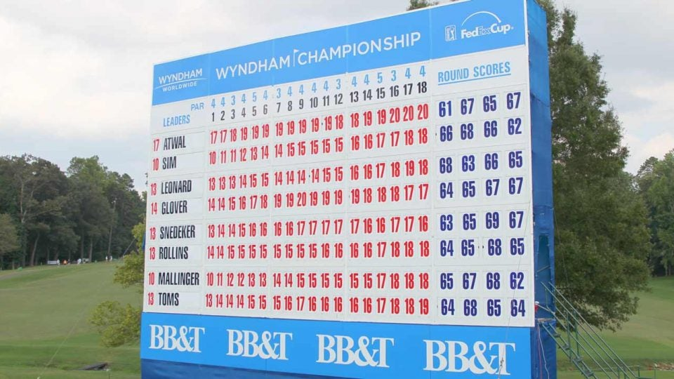 Wyndham Championship purse, prize money and winner's share
