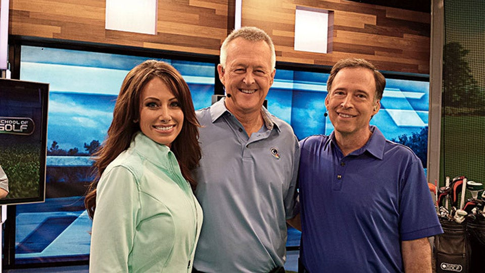 Mark Broadie on Golf Channel set