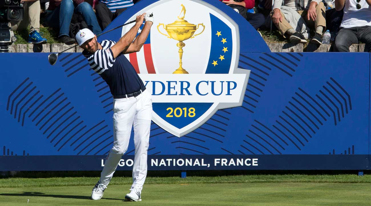 dustin johnson ryder cup