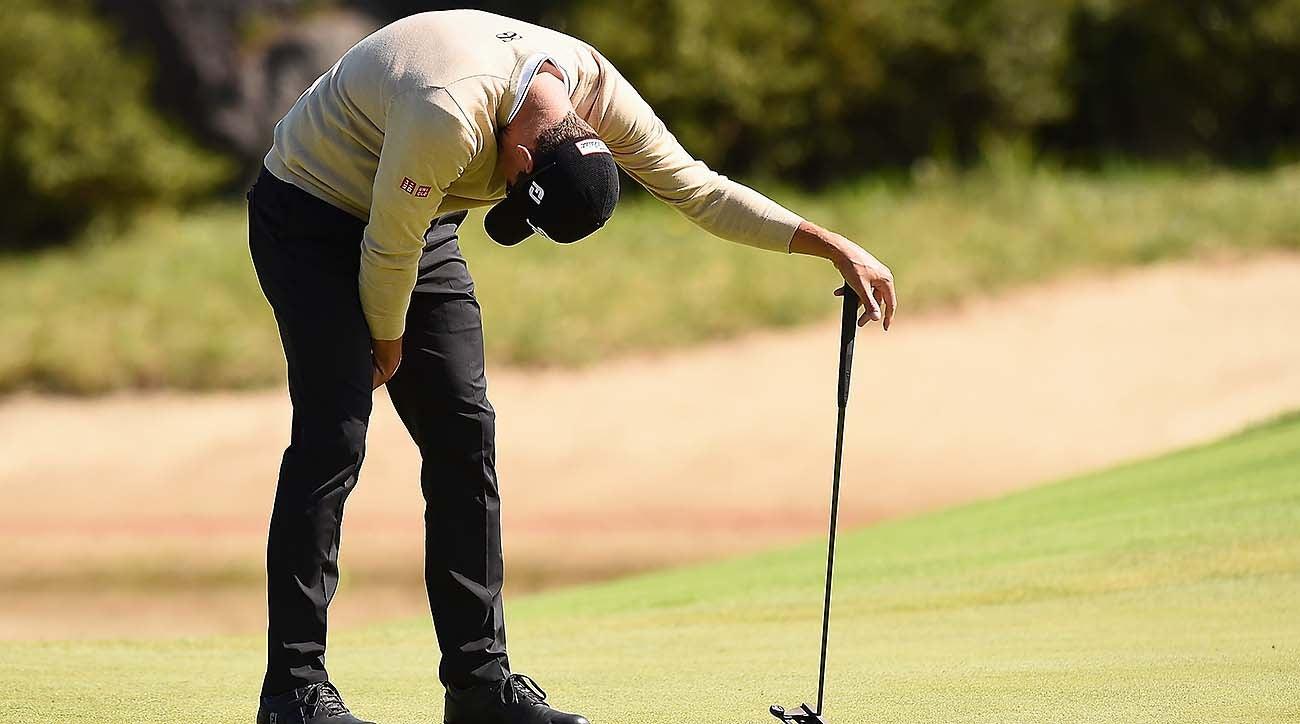 Demoralized Golfer