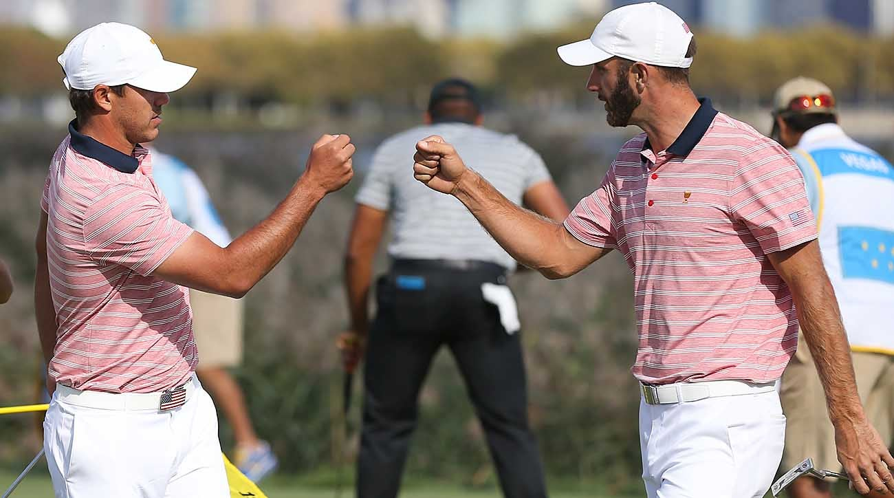 Brooks Koepka and Dustin Johnson, 2017 Presidents Cup