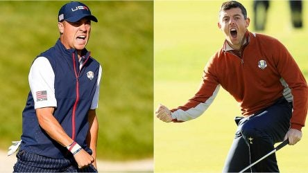 Justin Thomas, Rory McIlroy, 2018 Ryder Cup