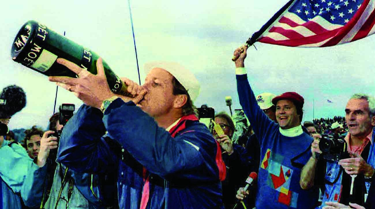 Payne Stewart, 1993 Ryder Cup celebration