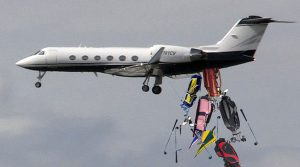 Plane Lost Golf Bags
