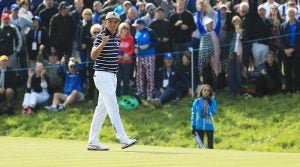 Rickie Fowler Ryder Cup Friday