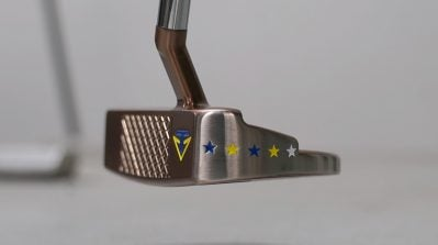 Sergio Garcia's custom Toulong putter references the Ryder Cup