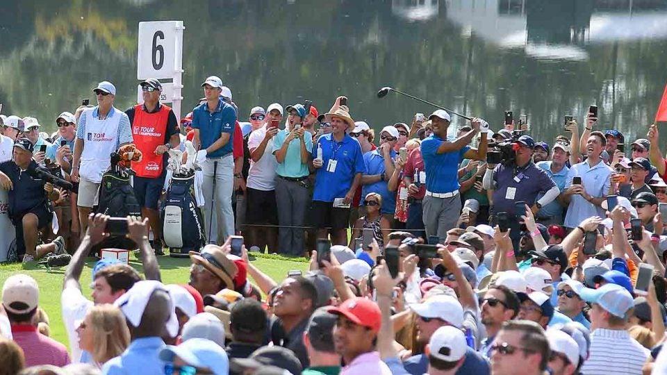Tiger Woods, Saturday, 2018 Tour Championship