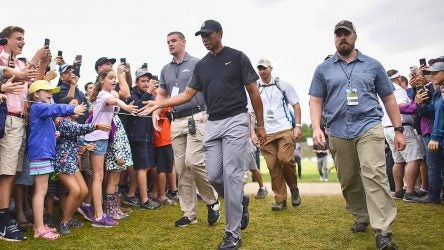 Tiger Woods, Saturday, BMW Championship