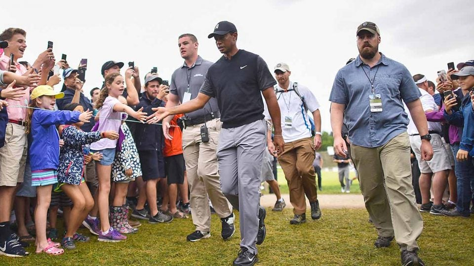 Tiger Woods, Saturday, BMW Championship
