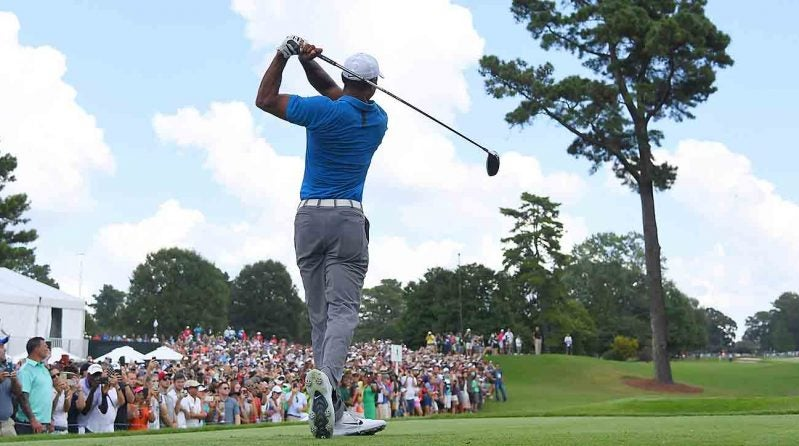 Tiger Woods, Round 3, 2018 Tour Championship