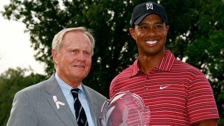 Tiger Woods Jack Nicklaus