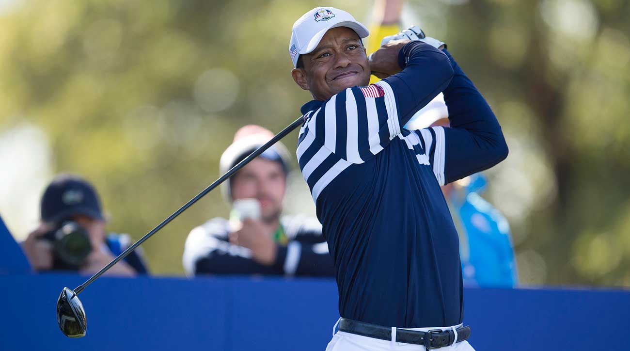 tiger woods ryder cup record  wins  losses in his career