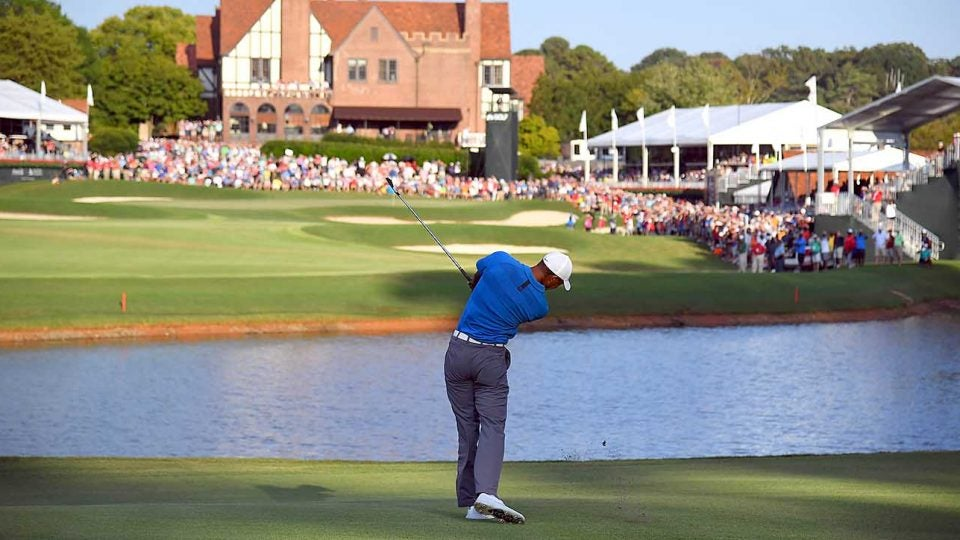 Tiger Woods, Saturday, Tour Championship