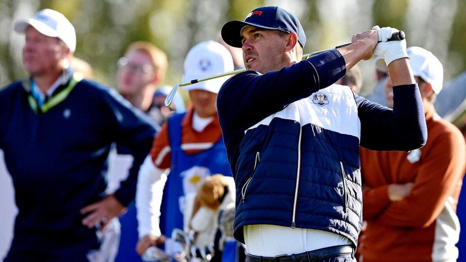 Ryder Cup sunday pairings brooks koepka