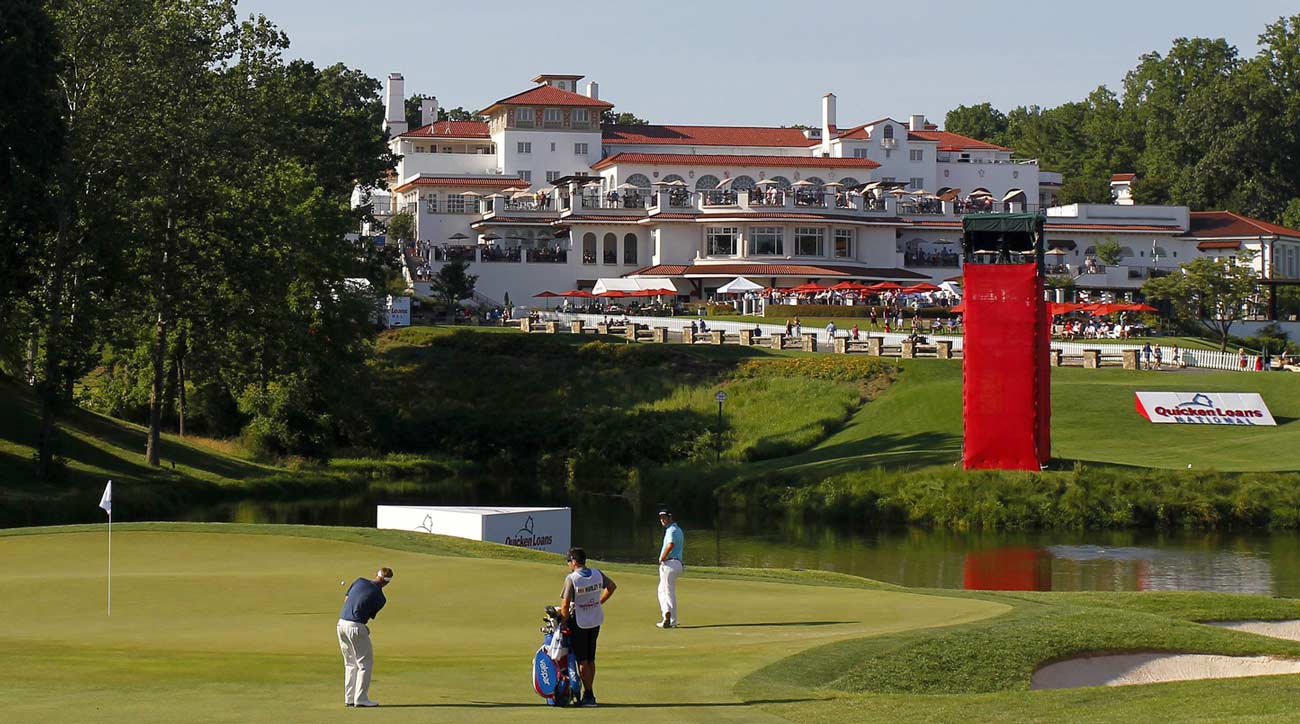 Congressional Country Club will host a future Ryder Cup and PGA Championship.